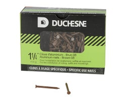 Brown Aluminum Soffit Nails 1-1/4 in. , 150 g