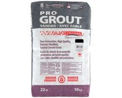 Black Sanded Grout 10kg