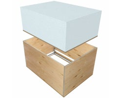 Raised Attic Hatch ThermoPro R42, 22in.x30in.