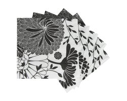 Table Napkins Flowers (20-Pack)