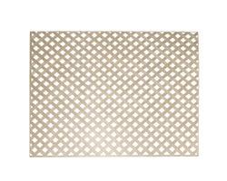 Khaki PVC Privacy Lattice4 ft.x 8 ft. (1 in. squares)