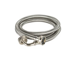 Flexible Stainless Washing Machine Hose 5 ft.