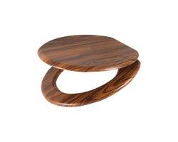 Siège de toilette en bois
