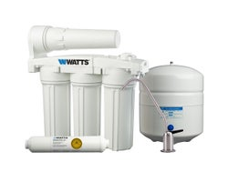 Five Stage Manifold Reverse Osmosis Filtration System