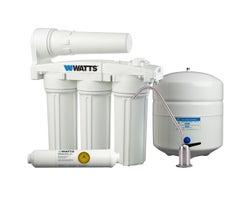 Système de filtration à osmose inversée à collecteur à cinq étapes