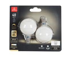 LED G16.5 Light Bulbs (2-Pack)