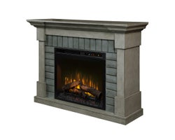 Royce Electric Fireplace , 1500 W Logs, Smoke Stack