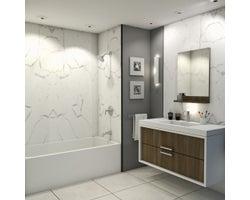 Panneau mural de douche Carrara 47pox94po