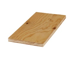 Select Fir Plywood 3/8 in. x 4 ft. X 8 ft.