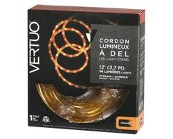 Cordon lumineux flexible 12 pi Orange