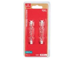 T3 Halogen Light Bulbs (Short) 100 W (2-Pack)