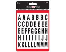 Adhesive Vinyl Letters and Numbers 1 in. (117-pack)
