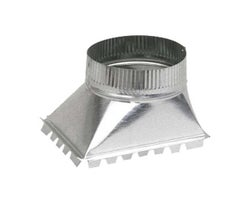 Galvanized Side Take-Off 5 in.