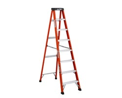 Heavy-Duty Fibreglass Stepladder 8 ft. Grade 1A
