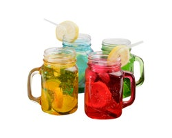 4-Pc Colour Mug Set