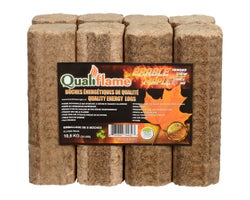 Qualiflame Energy Logs 3,0 lb (8-Pack)