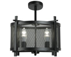 Blad 4-Light Semi-Flush Mount