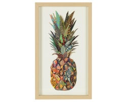 Pineapple Wall Decoration 11-7/8 in. x 19-5/8 in.