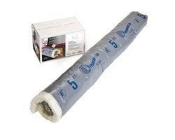 Tuyau isolé flexible pour entrée d'air pour poêle à bois 5 po x 4 pi