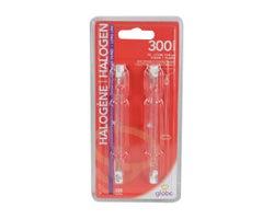 T3 Halogen Light Bulbs (Long) 300 W (2-Pack)