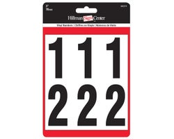 Adhesive Vinyl Numbers 3 in. (27-pack)