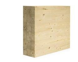 Poutre en bois lamellé-collé NORDIC LAM 51/2pox91/2pox24pi