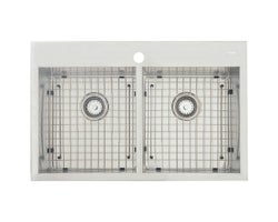 Xena Double Bowl Kitchen Sink 31 in. X 20 in.