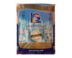 Granules de bois pour poêle Super Premium 33 lb
