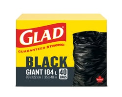 Giant Garbage Bags (40-Pack)