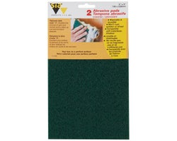 Coarse Abrasive Pads #0(2-Pack)