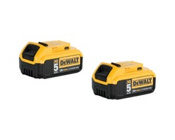 Batteries 20 V Max XR lithium-ion Dewalt (5,0 Ah) (Paquet de 2)