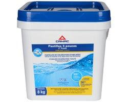 Canac Chlorine Pucks - 3 in., 8 kg