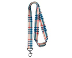 Cordon porte-clés Plaid (Leash)