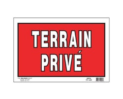 Private Property Sign 8 in. x 12 in.
