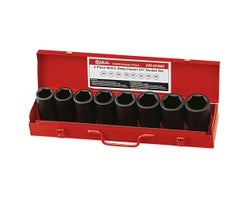 8-Piece 3/4 in. Drive Deep Impact Socket Set