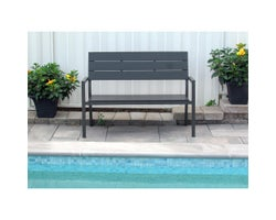 Kensington Bench50 po Grey