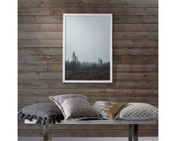 Lambris de bois Shiplap, Gris