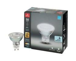 Ampoule-réflecteur DEL GU10, 5,5 W Paquet de 4