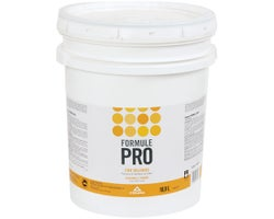 Formule Pro Eggshell Latex Paint Natural White 18.9 L