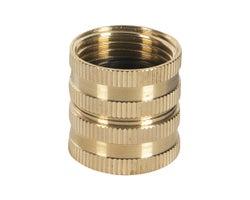 Raccord pour tuyau d'arrosage 3/4 po x 3/4 po (F x F)