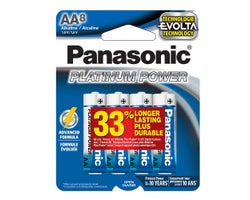 Panasonic Batteries AA (8-Pack)