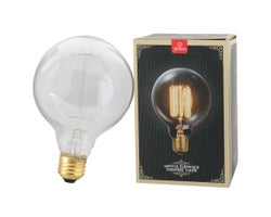 Vintage G30 Incandescent Light Bulb 60 W