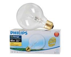 Ampoules halogènes pour coiffeuse G25, 40 W (Paquet de 3)