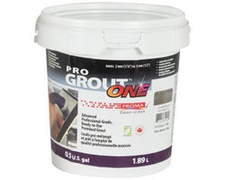 Coulis Pro Grout ONE 1,89 L Anthracite