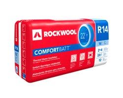 Laine isolante R-14 Rockwool ComfortBatt 3,5 po x 16 po x 59,7 pi²