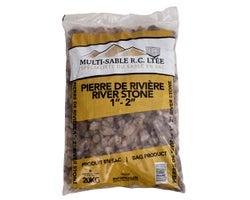 1 in. - 2 in. River Stone 20 kg