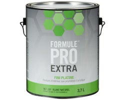 Formule Pro Extra Platinum Latex PaintNatural White & Colours 3.7 L