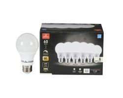 A19 LED Light Bulb Cool White 9W (6-Pack)