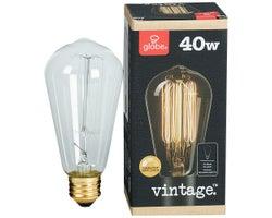 Ampoule incandescente Vintage S60 40 W