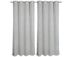 Winter Grommet Curtains 54 in. x 84 in. (2-Pack)